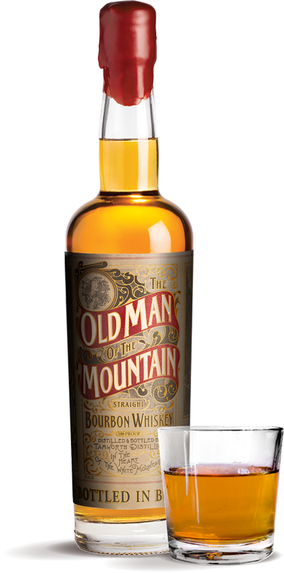 Old Man On The Mountain Bottle Image